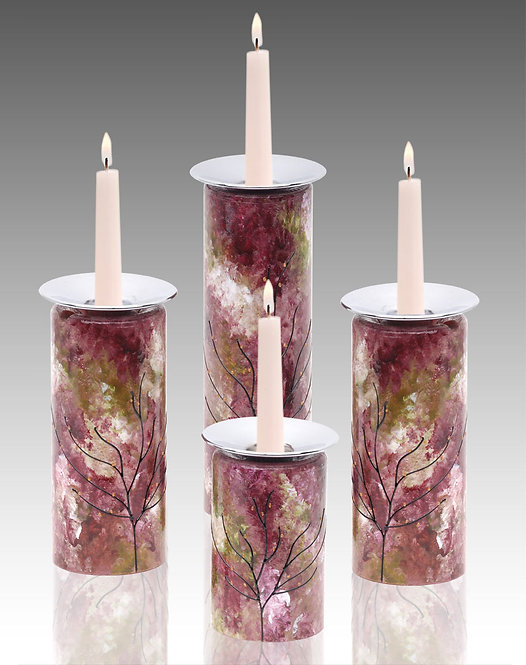 secret garden candle holders