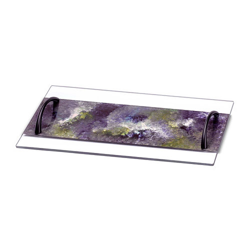 Large Serving Tray - Lavender Field