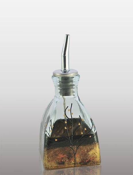 Small Oil or Vinegar Cruet - Celebration
