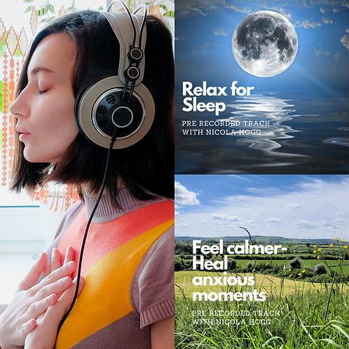 Feel Calmer & Relax For Sleep Bundle