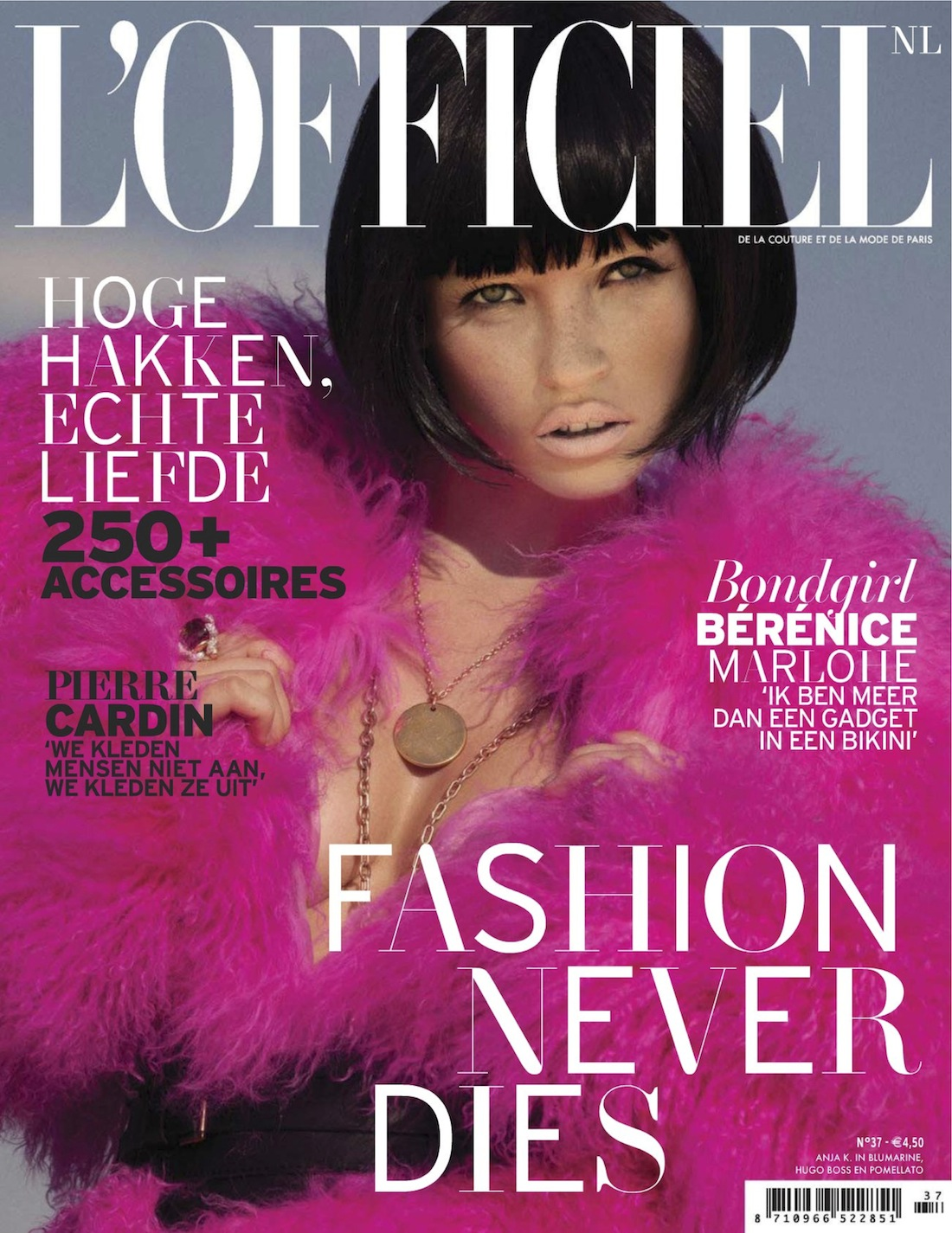 L'Officiel Netherlands - Mason Poole