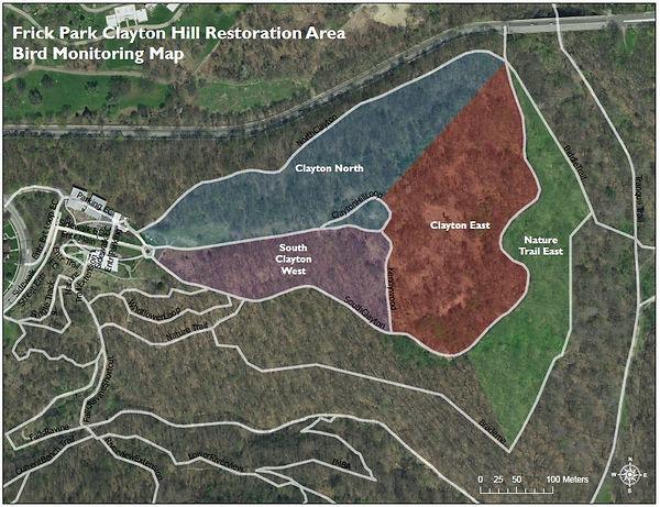 Clayton Hill Restoration Areas.JPG