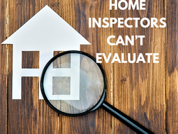 Items Home Inspectors Can't Evaluate