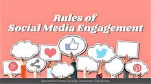 Rules of Social Media Engagement