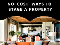 No-Cost  Ways to Stage a Property
