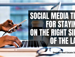 Social media tips for staying on the right side of the law