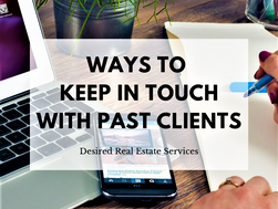 Ways to Keep In Touch With Past Clients