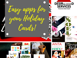 Easy apps for your Holiday Cards