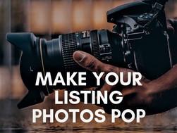 Make Your Listing Photos Pop