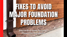 Fixes to Avoid Major Foundation Problems