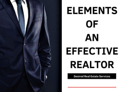 Elements of an Effective Realtor