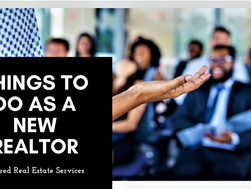Things to Do as a New Realtor