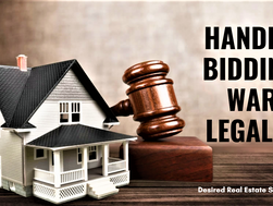 Handle Bidding Wars Legally