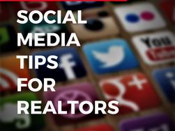 Social Media Tips for Realtors