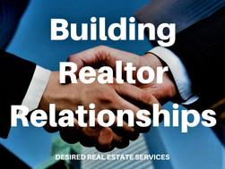Building Realtor Relationships