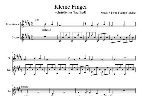 "Noten ""Kleine Finger"" Yvonne Louise"