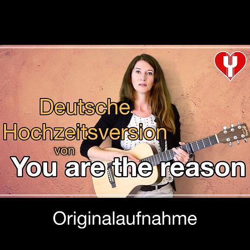 """""""Du bist der Grund"""" (You are the reason) -Yvonne Louise"""