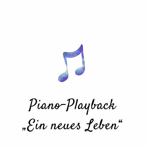 """Piano-Playback """"Ein neues Leben"""" - Yvonne Louise"""