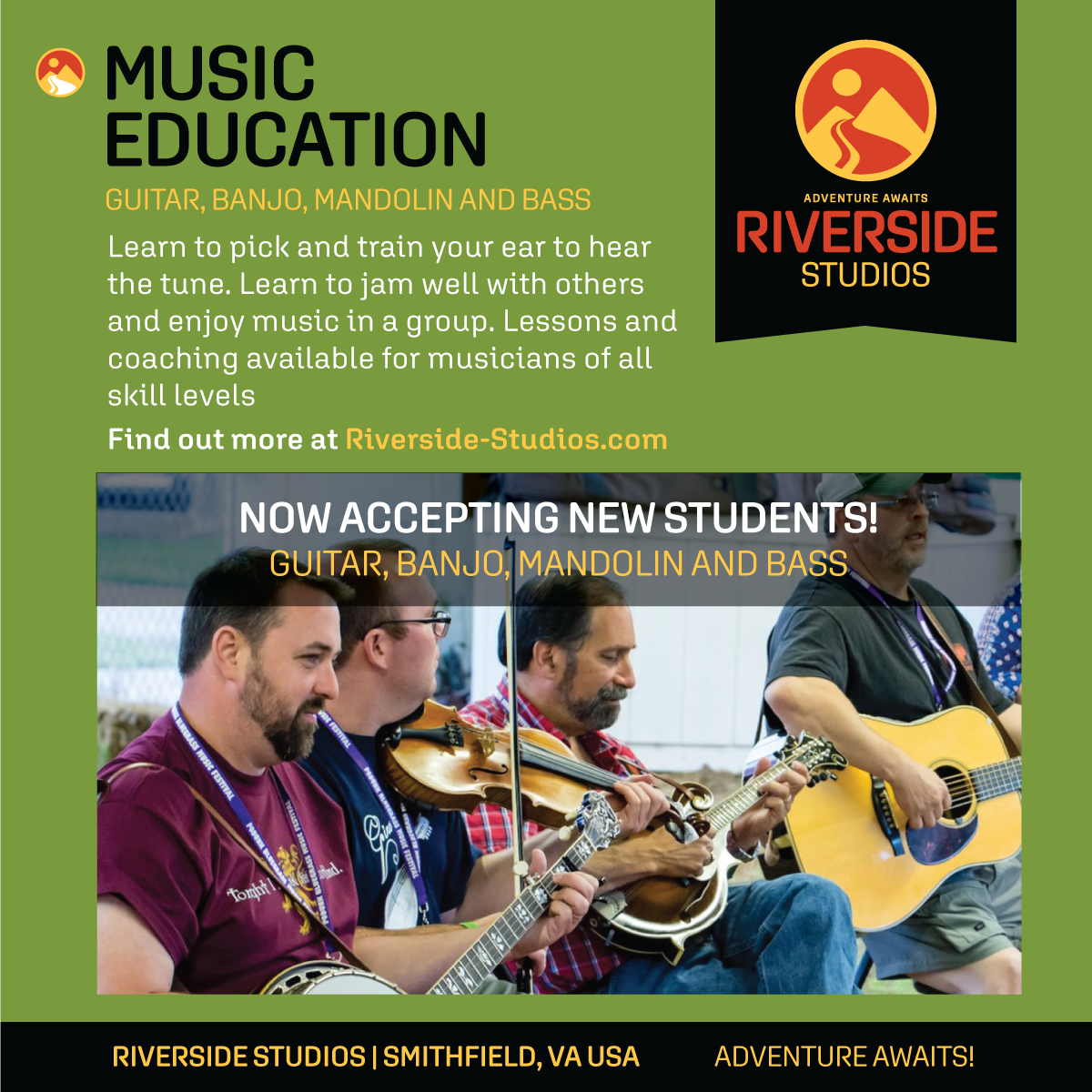 Music Lessons (In Person After May 5th)