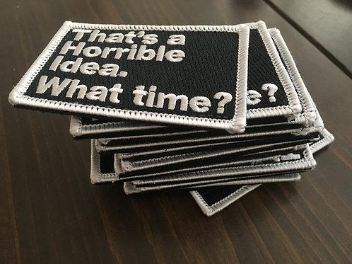 Horrible Idea Patch