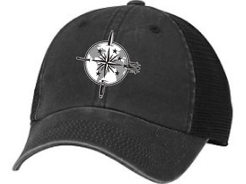 SAA Logo Embroidered AMERICAN NEEDLE RAGLAN BONES CAP