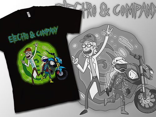 Electrom Rick & Morty Inspired T-Shirt