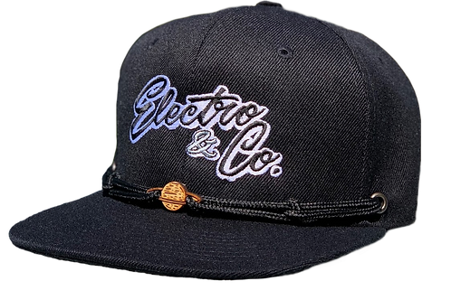 Electro & Co. Official Hat - Black/Black