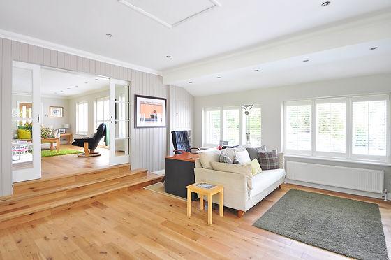 Laminate Flooring in Sunroom