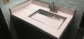 Custom Tile Sink