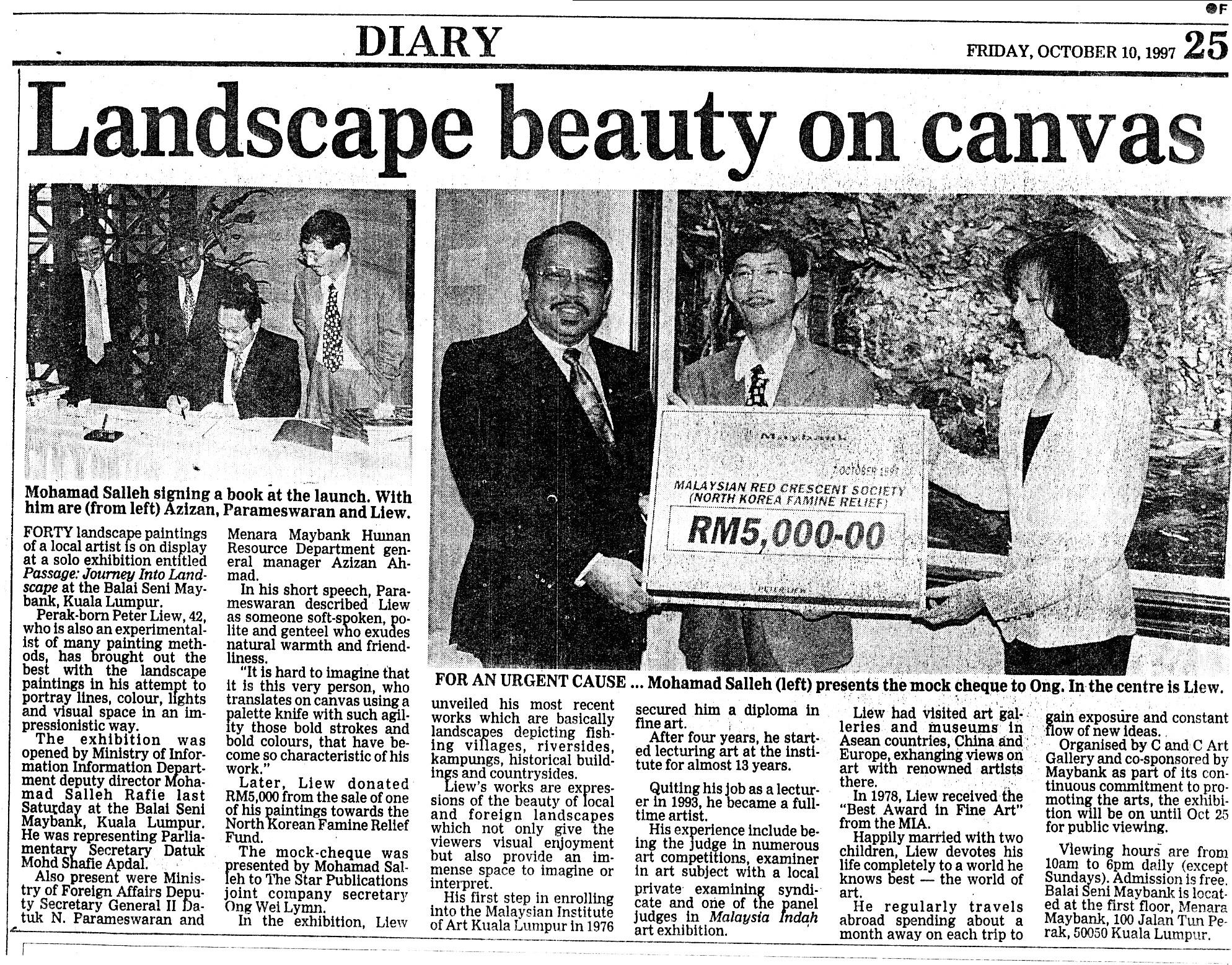 News Strait Times 1997