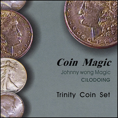 Trinity Coin Set (with DVD) by Johnny Wong