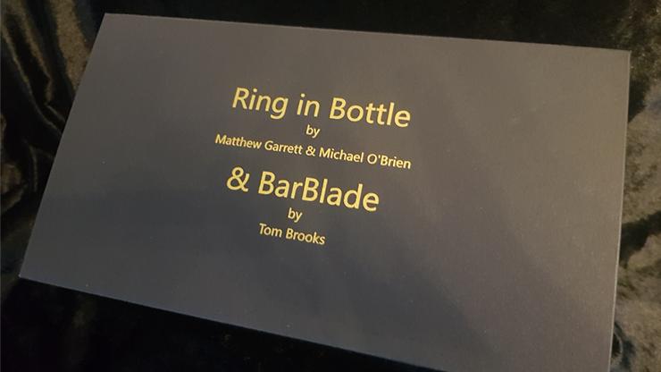 Ring in Bottle & BarBlade by Matthew Garrett & Brian Caswell