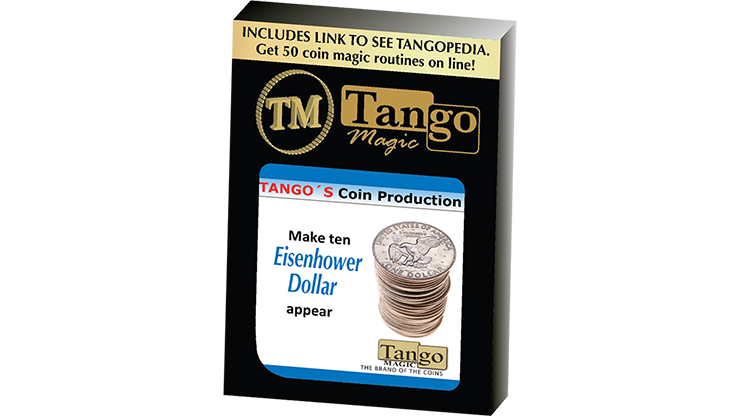 Tango Coin Production - Eisenhower Dollar D0187 by Tango