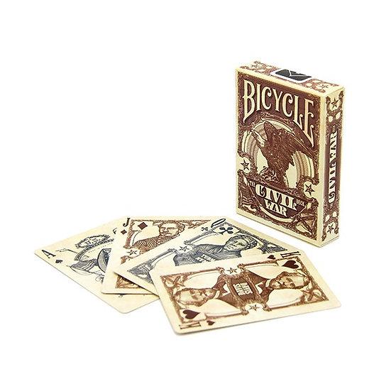 Bicycle - Civil War Playing Cards