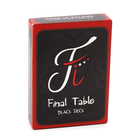 *Final Table Black Deck