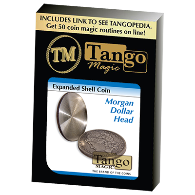 Expanded Shell Coin - Morgan Dollar (D0008)(Head) by Tango