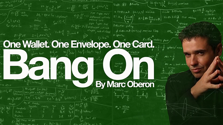 *Bang On 2.0 (Gimmicks and Online Instructions) by Marc Oberon
