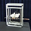 Thumbnail: Doves on Sword in Glass Cube by Tora Magic