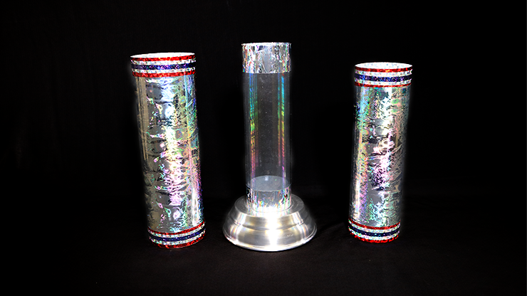Large Crystal Silk Cylinder by Ickle Pickles