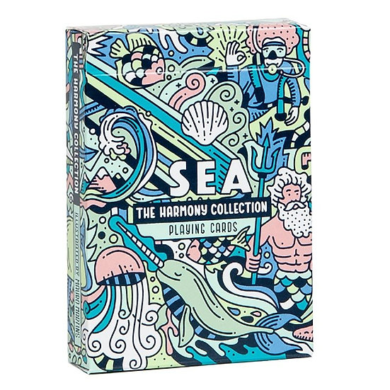 *The Harmony Collection Playing Cards - Sea