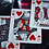 Thumbnail: Black Widow Playing Cards