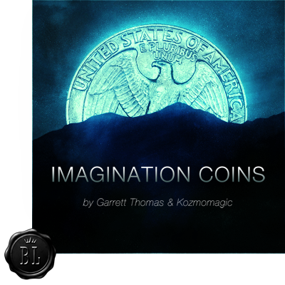 Imagination Coins UK by Garrett Thomas and Kozmomagic