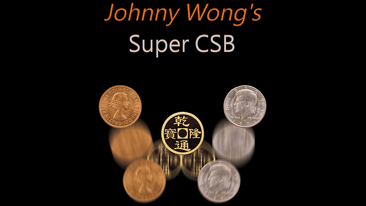 Super CSB (Gimmick and DVD) by Johnny Wong