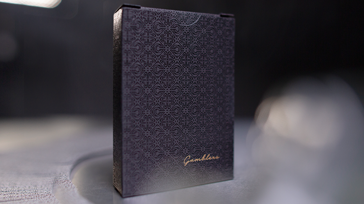 Gambler's Playing Cards (Borderless Black) Christofer Lacoste & Drop Thirty Two