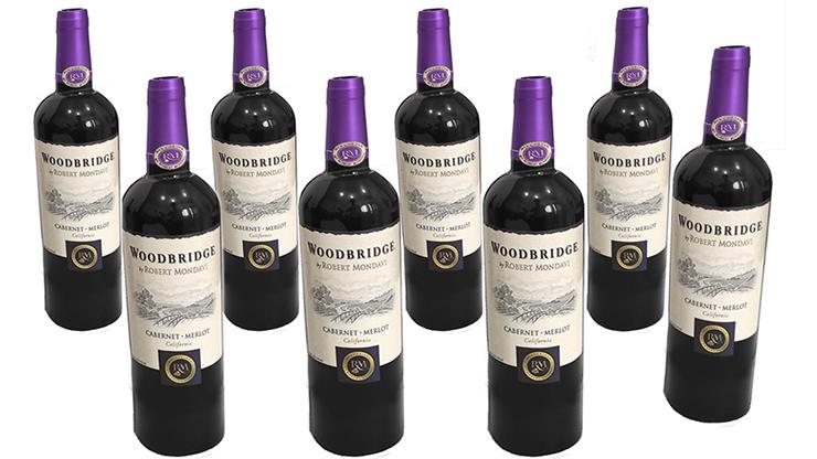 Multiplying Wine 8 Bottles (PURPLE) by Tora Magic