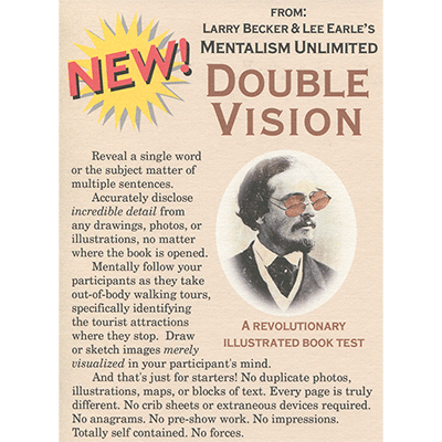 Double Vision by Larry Becker & Lee Earle