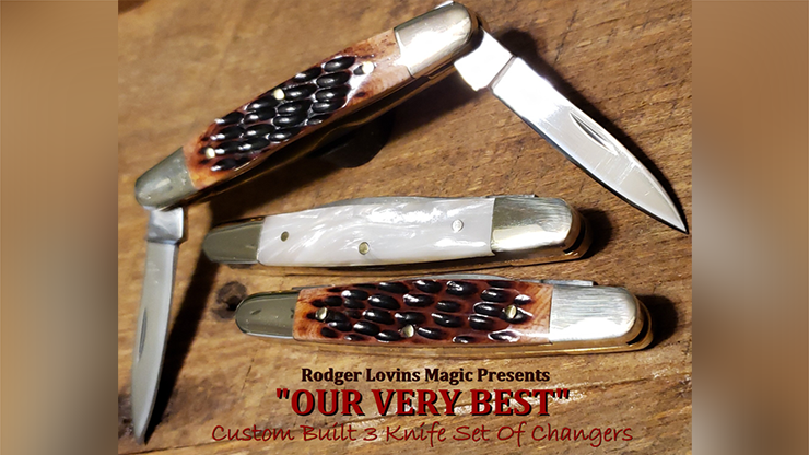 OUR VERY BEST Color Changing Knives by Rodger Lovins