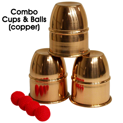 *Combo Cups and Balls (Copper)