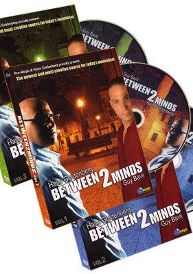 Between 2 Minds (3 DVD Set) by Guy Bavli and Haim Goldenberg - DVD