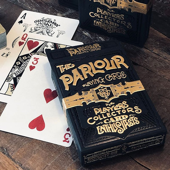 *Parlour Playing Cards - Black Limited Edition